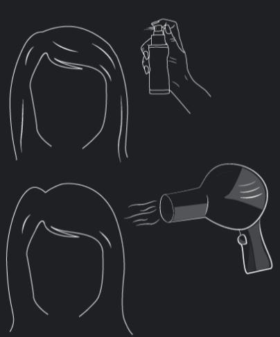 Spray Voluminizador del Pelo y refuerzo de la Raiz (instrucciones)